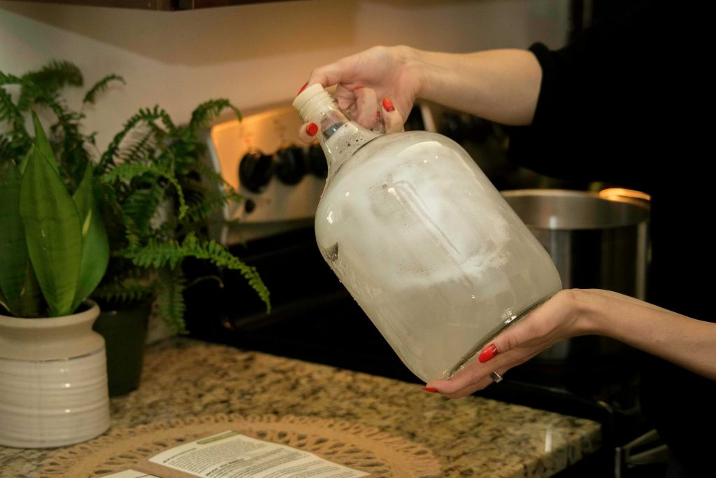 How to clean home brew kit equipment